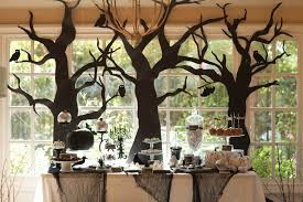 Halloween Decorations In Trees by End The Witch Hunt For The Best Halloween Decorations With Kraft Paper