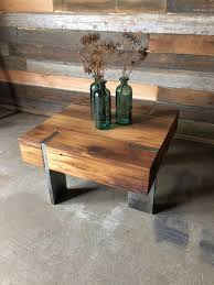 modern timber coffee tables square modern reclaimed wood timber coffee solid steel legs what