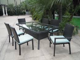 Patio Furniture Resin Wicker Resin Wicker Patio Dining Chairs Durable Resin Wicker Outdoor