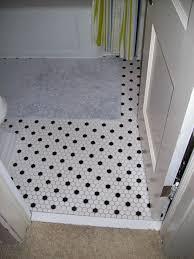 Black Bathroom Floor Tiles Hex Bathroom Floor Tile With Chairs Outstanding Ceramic Hexagon