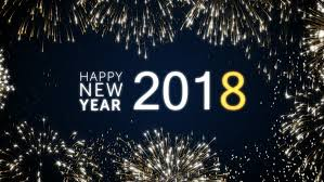 happy new year moving cards happy new year 2018 social post card with gold animated fireworks on