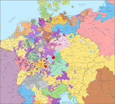 Alsace Lorraine Map Largest German Cities In 1600 2800 X 2200 Mapporn