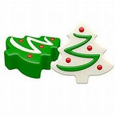 amazon com christmas tree oreo cookie mold candy making molds