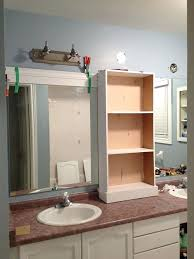 peahen pad framing an existing bathroom mirror framing an existing bathroom mirror bathroom mirror ideas