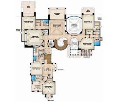 six bedroom floor plans florida style house plans plan 55 116