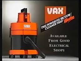 Vax Vaccum Cleaner 1990 Vax Vacuum Cleaner Youtube