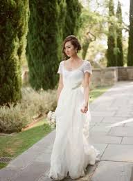 35 prettiest short sleeve wedding dresses weddingomania