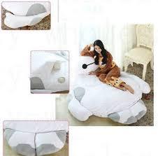 Giant Totoro Bed 2017 Giant Big Filled Big Hero Baymax Bed Tatami Mattress Sofa