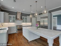 traditional kitchen with kitchen island quartz countertop sample