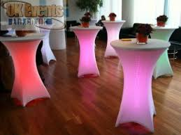 Led Bistro Table Led Furniture Hire Poseur Table Rental Led Bars Led Cubes