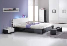 Modern Platform Bed With Lights - italian made modern bed with extra storage and headboard light