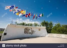 Canadian Provincial Flags Canadian Provincial Flags Stock Photo Royalty Free Image