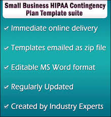 small business disaster recovery plan