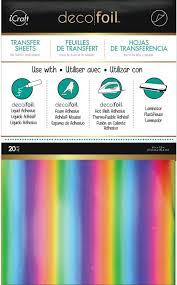 Deco Foil Thermoweb Deco Foil Transfer Sheets 6