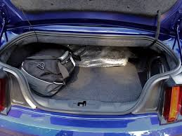 mustang convertible trunk ford mustang convertible trunk space car autos gallery