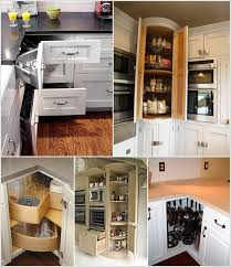 corner kitchen cabinet shelf ideas clever corner kitchen storage ideas