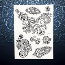 online get cheap flower foot tattoo aliexpress com alibaba group
