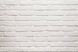 home design white brick textured wallpaper midcentury medium the