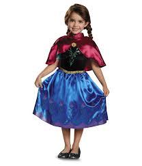Girls Halloween Costumes Frozen Anna Girls Disney Princess Costume Dress Shawl