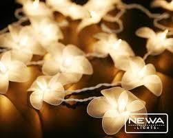 White Christmas Lights For Bedroom - flower christmas lights set twinkling christmas lights of battery