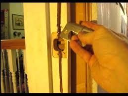 Repair Interior Door Frame How To Repair A Door Jamb