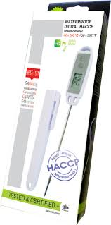 thermometre cuisine compatible induction thermomètre digital à sonde étanche pour professionnels 50 c à 200 c