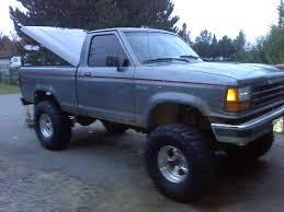 ford ranger lifted chris1992stx 1992 ford ranger regular cabcustom short bed specs