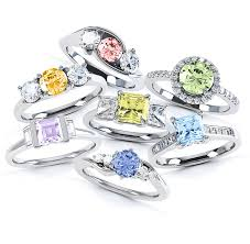 coloured diamonds rings images Rainbow rings fancy coloured diamonds jpg