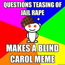 Carol Blind Blind Carol Meme Image Memes At Relatably Com