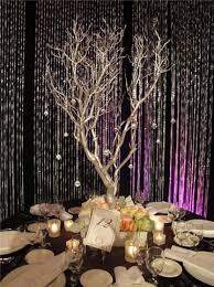 Wedding Tree Centerpieces Definitely Thinking Manzanita Branches And Hanging Crystals And