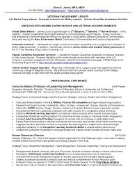 Military To Civilian Resume Sample by Download Veteran Resume Haadyaooverbayresort Com
