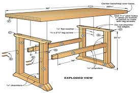 build a workbench easy way to decorate your outdoor space diagram