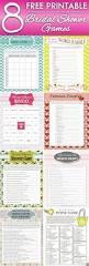 the 25 best printable bridal shower games ideas on pinterest