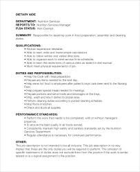 Sample Resume For Dietary Aide by Nutritionist Job Description Nutritionist Job Description What