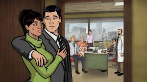 this week the archer gang takes aim at the office smoochie poochies