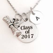 high school class necklaces graduation necklace class of 2017 graduation college