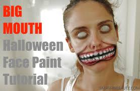 torn mouth makeup tutorial halloween 2017 smashinbeauty youtube