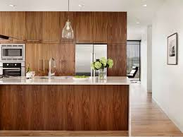 Scratch And Dent Kitchen Cabinets Walnut Kitchen Cabinets In The Island With Modern Knobs And