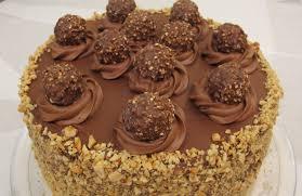 5 layer ferrero rocher nutella dream cake