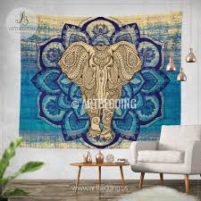 wall murals wall tapestries canvas wall art wall decor tagged elephant tapestry lotus mandala wall tapestry hippie tapestry wall hanging bohemian wall tapestries