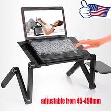 Laptop Desk For Bed by 360 Adjustable Foldable Laptop Desk Aluminum Table Stand Bed