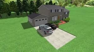 split level garage need help choosing a door for garage addition on 1961 split level