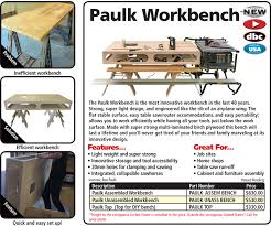 paulk workbench fastcap woodworking tools