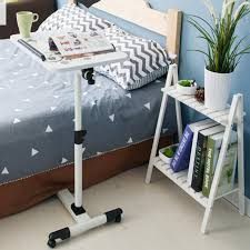 adjustable movable laptop table lazy table mobile laptop table multipurpose movable bedside table