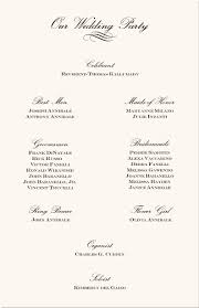 sles of wedding programs for ceremony wedding program flow reception wedding ideas 2018