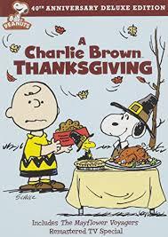 brown thanksgiving 40th anniversary peanuts