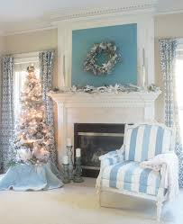 Living Room Mantel Decor Christmas Mantel Ideas To Turn Your Home Into A Winter Wonderland