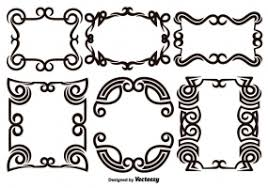 scroll work free vector graphic free found 4 312