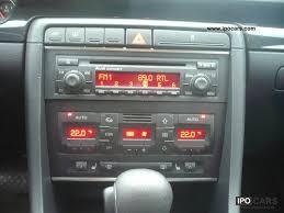 audi a4 2004 radio 2004 audi a4 3 0 automatic checkbook 99 tkm car photo and specs