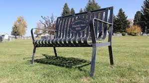 memorial garden benches gardening ideas
